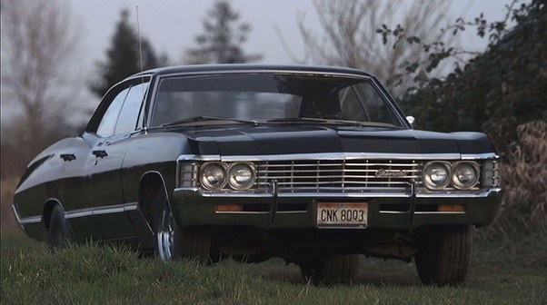 What Is The License Plate On The Impala In Supernatural