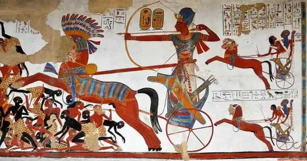 Egypt Warrior Illustration Anubis Pyramid Fantasy Art: Images Show That Dark Skinned Soldiers Were In The Ancient