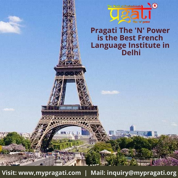 Which is the best institute for French language in Delhi