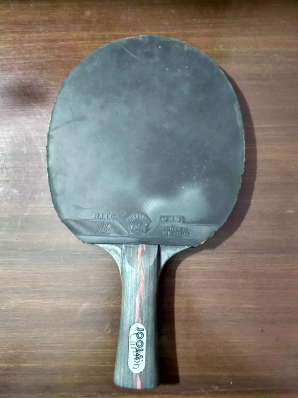 Why Are Table Tennis Bats Red And Black In Colour Quora