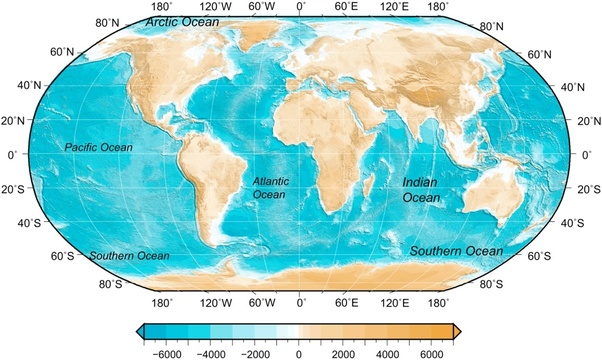 What are the 5 oceans on earth? - Quora