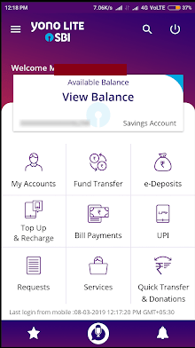 "Is there any advantage in using the SBI ""YONO"" app over the"