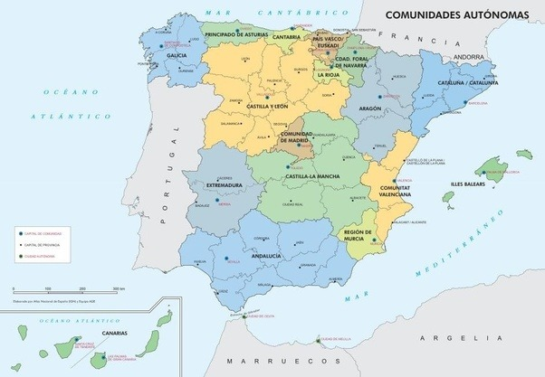 What are the TLDRs or stereotypes of the various regions of Spain