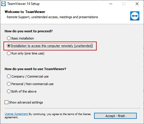 Why can't I log into a remote computer using TeamViewer
