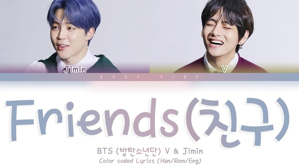What Bts Songs Best Fit As Friendship Songs Quora