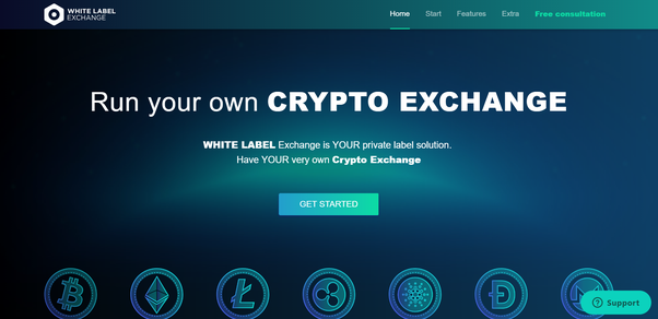 white label cryptocurrency exchange partners