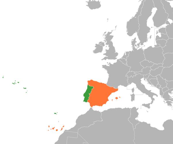 Portogallo Spagna Cartina.Perche La Spagna Non Ha Mai Conquistato Il Portogallo Cosa Li Ha Fermati Quora
