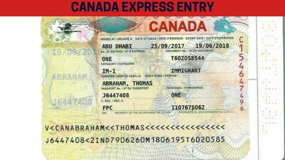 What does the Canadian PR visa look like? Is it something