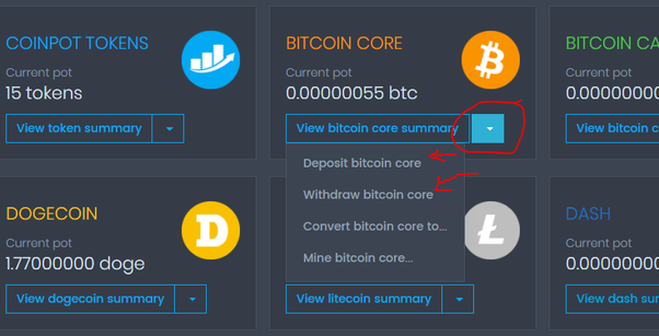 How to get the wallet address of my CoinPot account - Quora