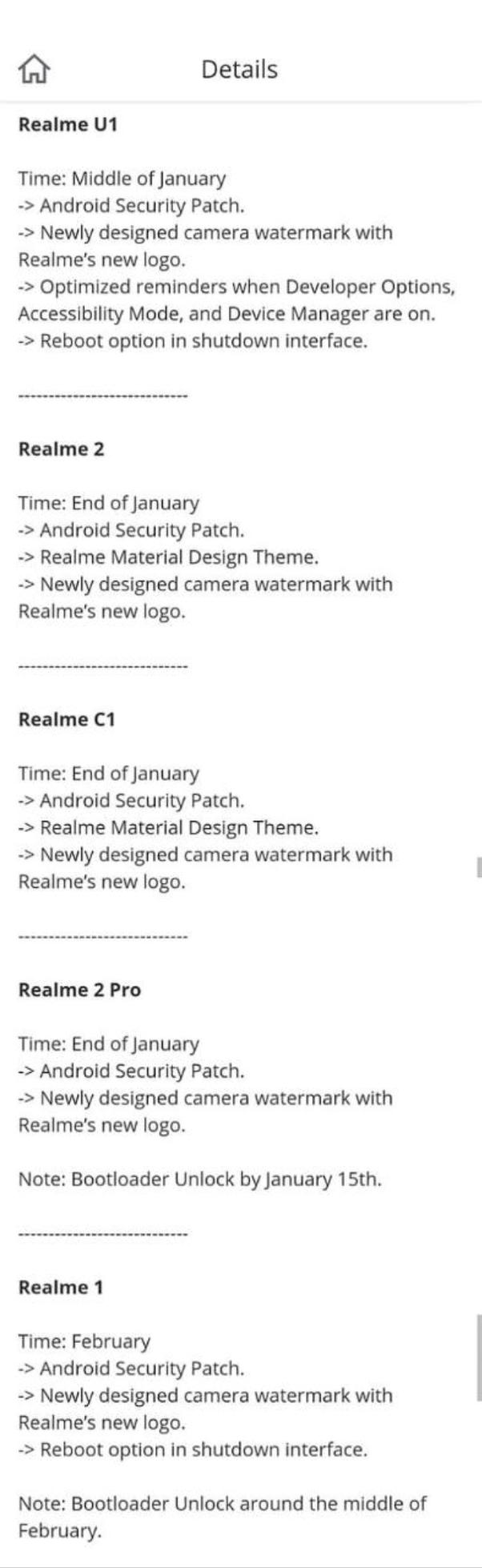 When will we start getting custom ROMs for Realme phones