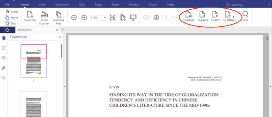 How to convert a PDF to a MS Word file while keeping the fonts