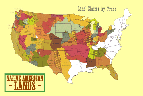 Does the US map prove that Native Americans don\'t exist and history ...