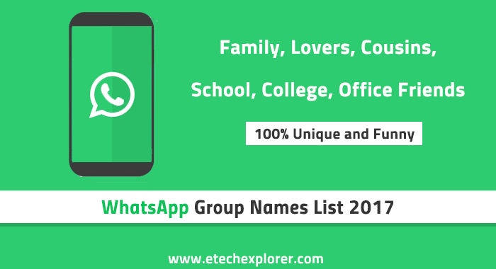 Which is the best WhatsApp group name related to friendship? - Quora