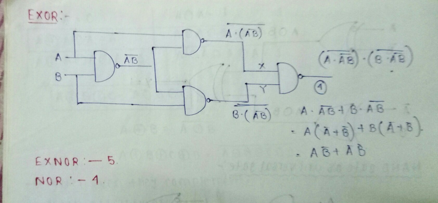 Why Are Nand And Nor Gates Called Universal Quora Logic Diagram Using Only Now The Following Is Implementation Of All