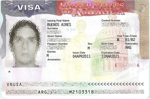 Can I travel to the US with a B1/B2 visa issued and sponsored by a