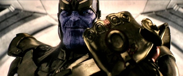 Who was thanos talking to when he said fine ill do it myself at and so instead of sending out any additional pawns he dons the gauntlet and exclaims to himself fine ill do it myself solutioingenieria
