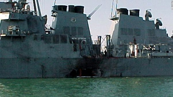 a description on how the uss cole was attacked The uss cole bombing was a suicide attack against the united states navy guided-missile destroyer uss cole (ddg-67) on 12 october 2000, while it was harbored and being refueled in the yemen port of aden 17 american sailors were killed, and 39 were injured.