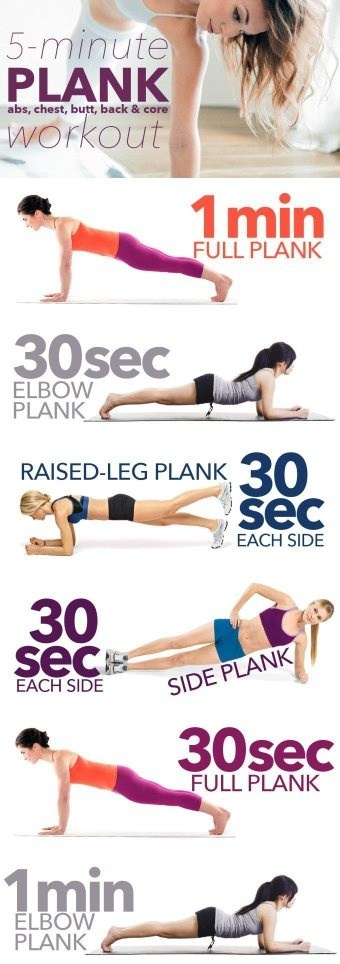 Is plank a more effective belly fat burning workout than for Plank workout results
