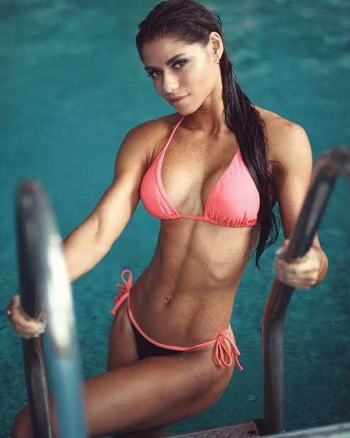 Русские фитнес модели вика романенко