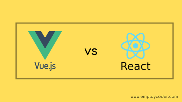 Which one is fast in developing new apps, Vue js or React