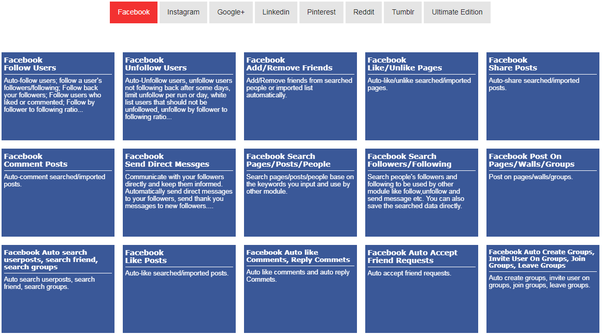 Facebook search user comments