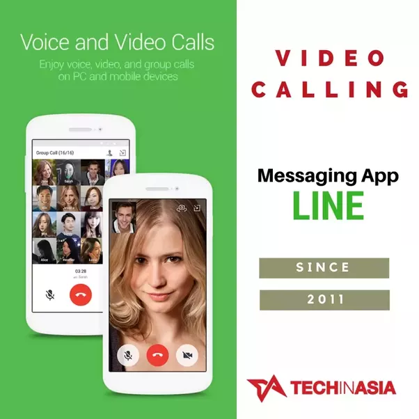 Line Video Calling Feature Interface