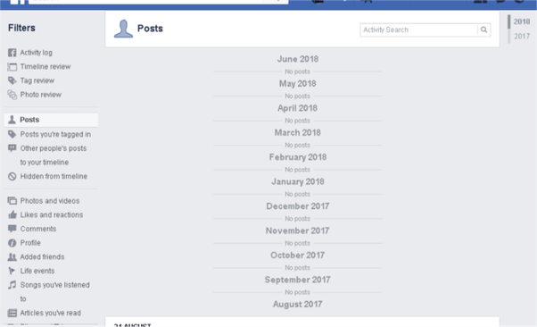 How to see everything I ever posted onto Facebook - Quora