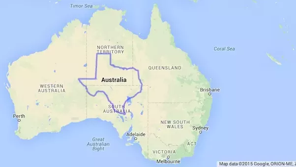 Apart From The Reciation Of Distance I Don T Think There Is Any Commonality Between People In Texas Usa Oz For Instance