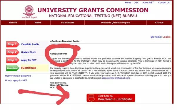 How to get a UGC net original certificate after I clear the exam - Quora