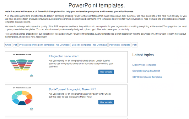 Where can I download PowerPoint templates? - Quora