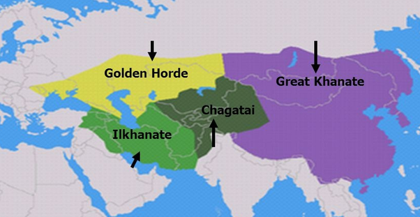 compare and contrast the yuan to the golden horde The golden horde (mongolian: (golden) was also the color after the overthrow of their nominal suzerain yuan emperor toghan temur, golden horde lost touch with.