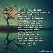 Do you have any favorite quotes, poems or movie lines that ...