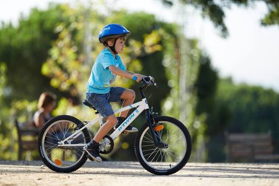 95092a8a297 This kids bicycle is made for Children ages 6 to 8 years (1.20 m to 1.35 m  tall). This bicycle is ideal for neighbourhood rides and small trails.