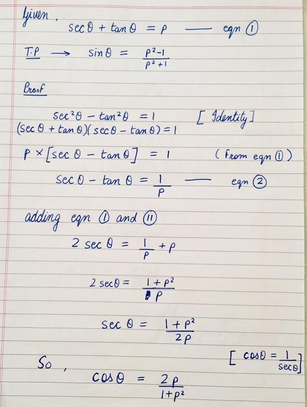 What Is The Derivative Of Y = Sec(θ) Tan(θ)? - Quora