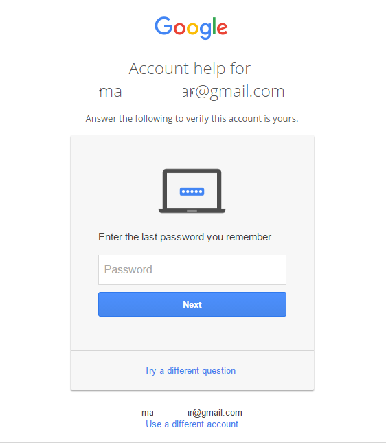 how to change password gmail when i lost my tablet