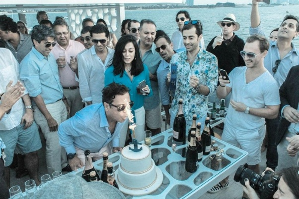 How much does it cost to hire a boat/yacht for a birthday ...