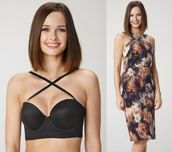 How To Wear A Halter Top Without Showing My Bra Quora