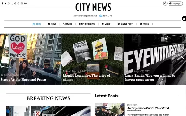 Where Can I Find Wordpress Themes That Resemble The New Yorker Or