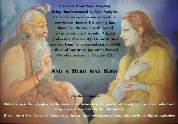 Risultati immagini per Vasishta  e Rama