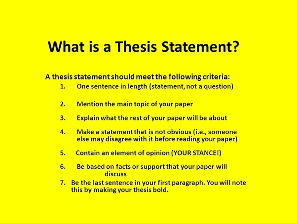 Critical review of phd thesis