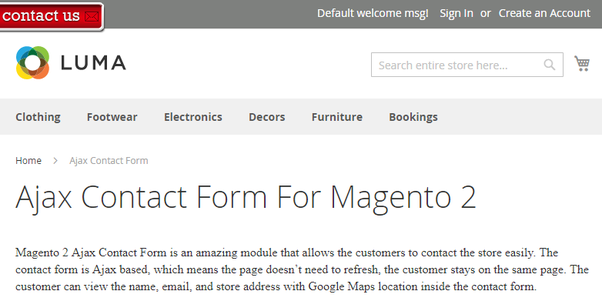 What is the best way to add a slideout forms in Magento 2 webstore
