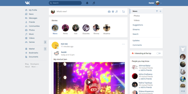 Why do many russians prefer vk to facebook quora in vk i can do everything that people do in facebook instagram whatsapp and twitter together you can even buy some clothes or other stuff using vk freerunsca Images