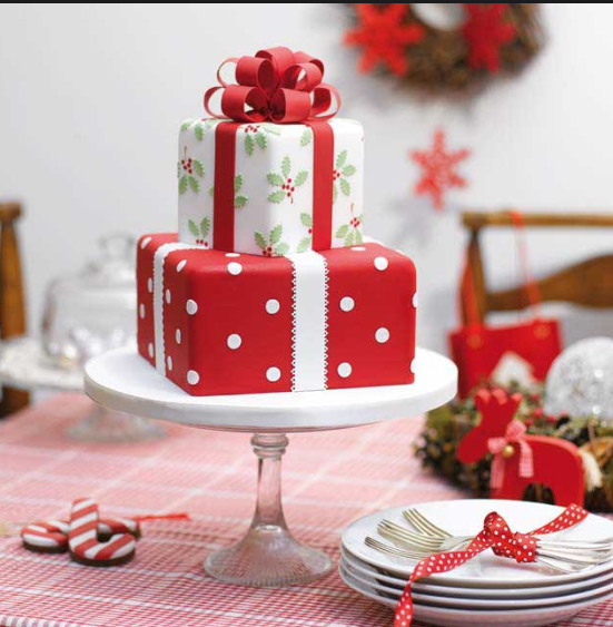 Is Concerned Get A Christmas Cake That Will Be Double Celebration In Fact You Guys Can Cut For As Well Her Birthday
