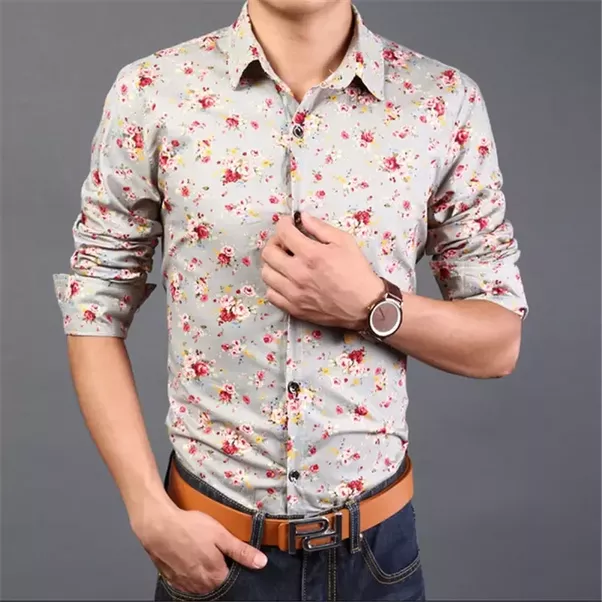 Are floral printed shirts trendy for men? - Quora