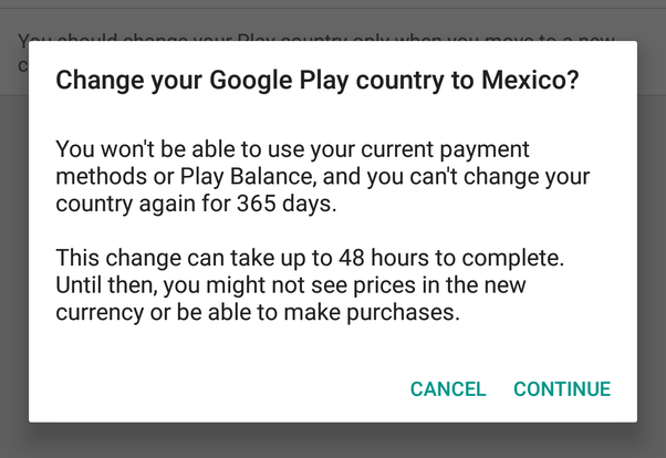 How to change my Google Play Store country - Quora