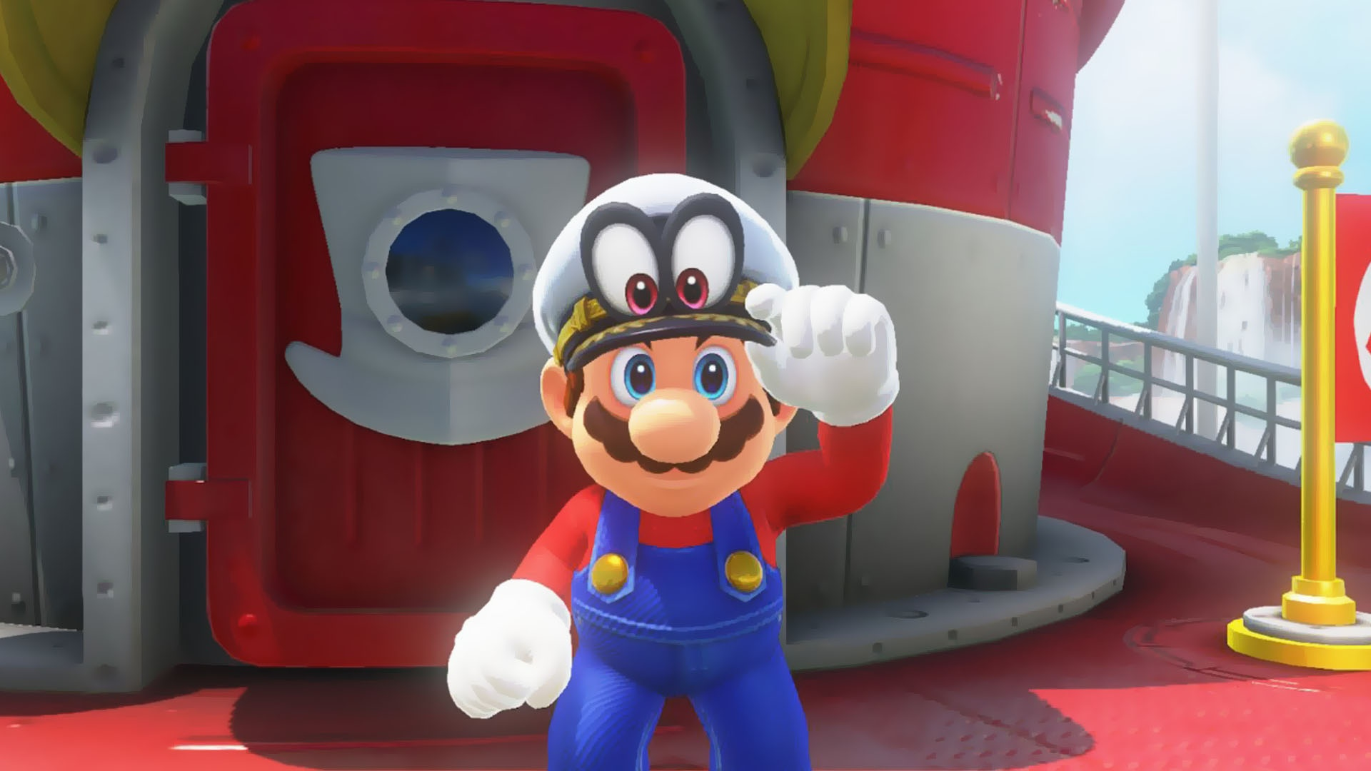 Why Do Most Speed Runners In Mario Odyssey Wear The Sea