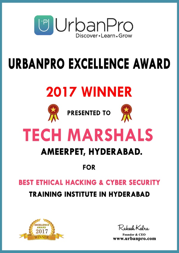 What is the best hacking institute in India, specifically Hyderabad ...