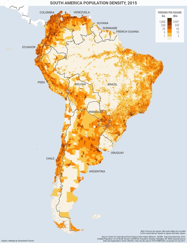 How does it feel for Brazilians to be surrounded by Spanish ...