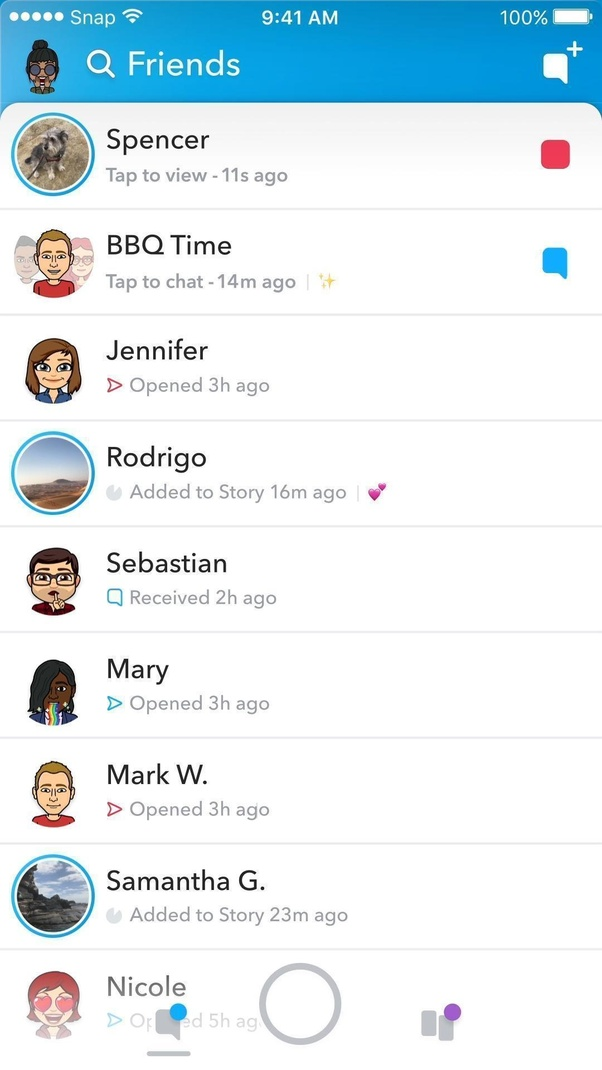 how to see full friends list on snapchat update