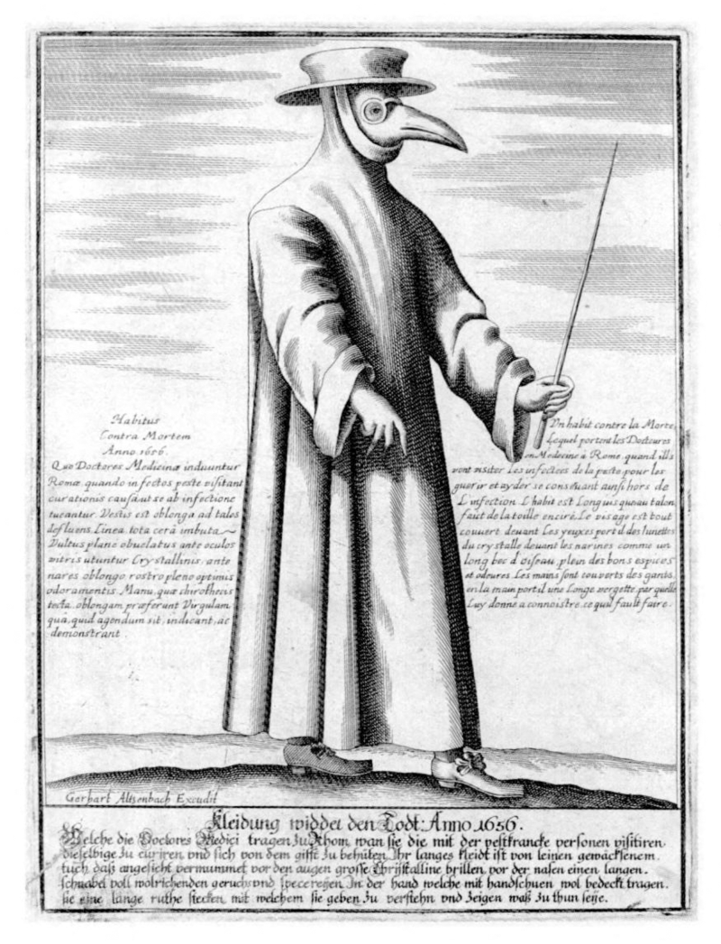How Effective Were The Costumes Worn By Plague Doctors At Protecting Them From Being Infected Quora